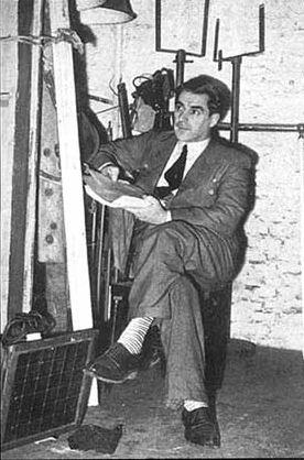 Roberto Arlt (en sótano)